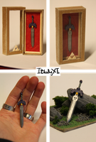 Master sword miniature by IBlodyXI
