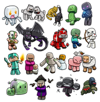 Lil' Minecraft Monsters REBOOT by ghostfire