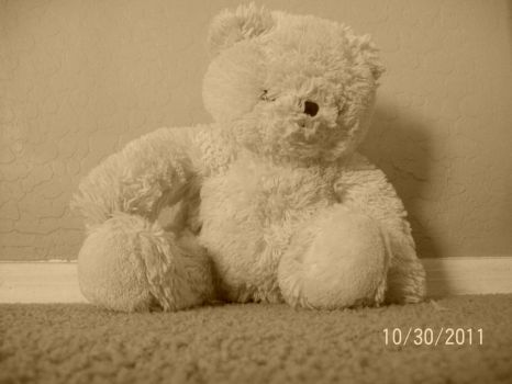 Teddy Bear by devianthappiness