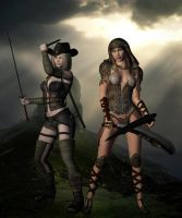 The Ranger and the Priest by SavageDragon1313