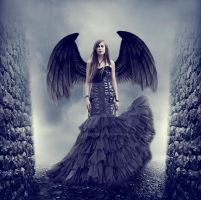 Dark angel by LafayetteArt