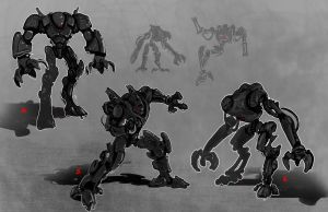 Robot Movie concepts 2 by adamski1616