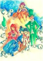 ...and Friends and Giant Peach by Dolokun