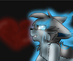 Me and my broken heart. by TundraKittyArtist