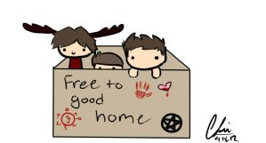 Free to good home by desuStrider