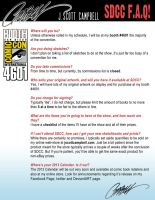 SDCC J. Scott Campbell F.A.Q. Sheet by J-Scott-Campbell