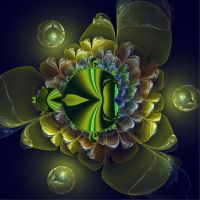 Green flower by Margot1942
