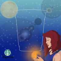 Frappucino Shoot for the Stars by AumbreSuai