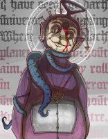 Tinky Winky, Emissary of Cosmic Ruin by BrotherBaston