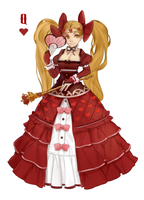 Queen of hearts by CristalAvi