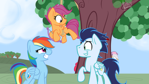 Is There Something On My Flank Now?? by Littleblackraencloud