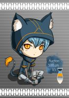 Adoptable: Nekoboy [CLOSED][AUCTION] by Plume-drawing