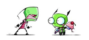 Dammit, Gir by worm-baby