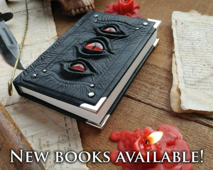 New books available right now! by MilleCuirs
