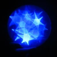Blue Star Orb 1a by Windthin