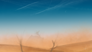 Speedpainting No. 7 - In the Sands by Lucsy3012