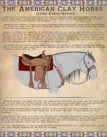 (NEW) The American Clay Horse: Tack by 11IceDragon11