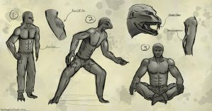 Mwalgi Concept Sketches -Phase 2- by QTroubadour