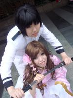 Japan and Taiwan cosplay by ravient