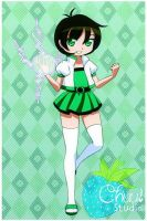 Powerpuff portrait - Buttercup! by Yet-One-More-Idiot