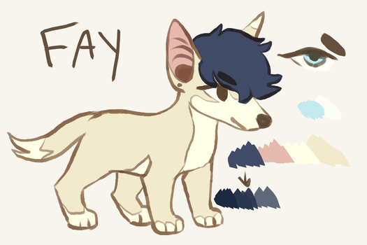 Fay Ref by 5up3r-n0va