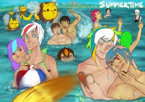 -SUMMER TIME- by SaturnicSorian