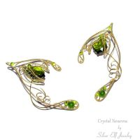 Crystal Yavanna    elf ears by Lyriel-MoonShadow