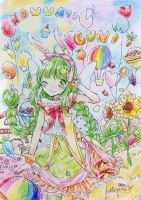 Gumi's Colorful World by Hananokaze
