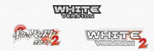 Pokemon White 2 English Logo by t7fu8