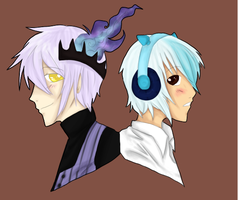 Pkmn: Two Fellas by SymphKat