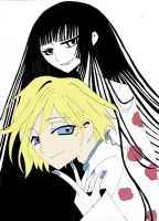 Fay and Yuuko by CLAMP-xxxholic