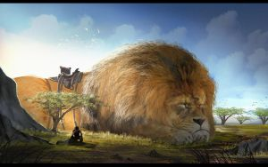 Giant Pet by Enthing