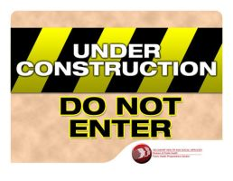 Constrution Sign by cgitech