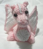 Custom Order Pink Dragon by PerilousBard