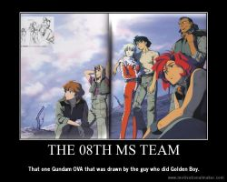 The 08th MS Team Motivational Poster by slyboyseth