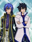 Gray and Jellal by SassyLilPanda