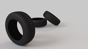 3D tires test render by SnowLeopard217