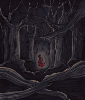 Red Riding Hood by LualaDy