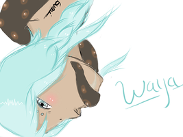 Character name - Waya  Bound by Gumiko