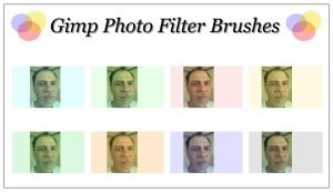 Gimp Photo Filter Brushes by Geosammy
