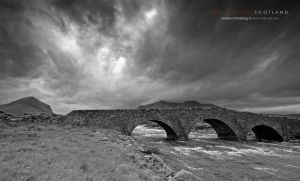Bridge to Cuillins by Stridsberg