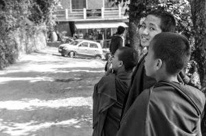 Young monks by NorthBlue