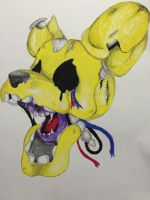 SpringTrap -water color- by ll-MrRandom-ll