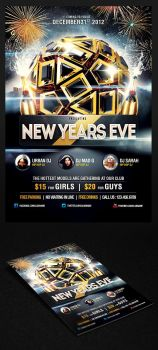 2013 New Years Eve Party Flyer Vol.3 by saltshaker911