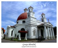 Gereja Blenduk by cionia