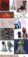 Homestuck Spam Dump by akrona