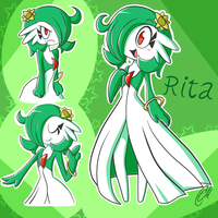 Rita the Gardevoir! by Quarium