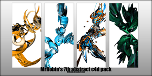 MrRobin abstract c4d pack 7 by MrRoBiN