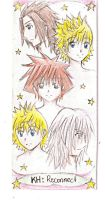 KH: bookmark by Sora-to-Kuraudo