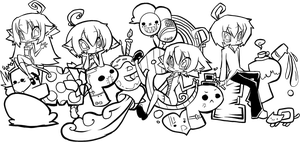 Colorless Fanart by ayrra